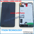 Para nokia lumia 976 630 635 rm-976 lcd screen display + digitalizador asamblea táctil de cristal + frame envío libre
