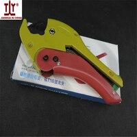 O envio gratuito de venda quente novo tipo portátil ferramentas de canalização pex tubo cortador de tubos 42mm fábrica de preços por atacado