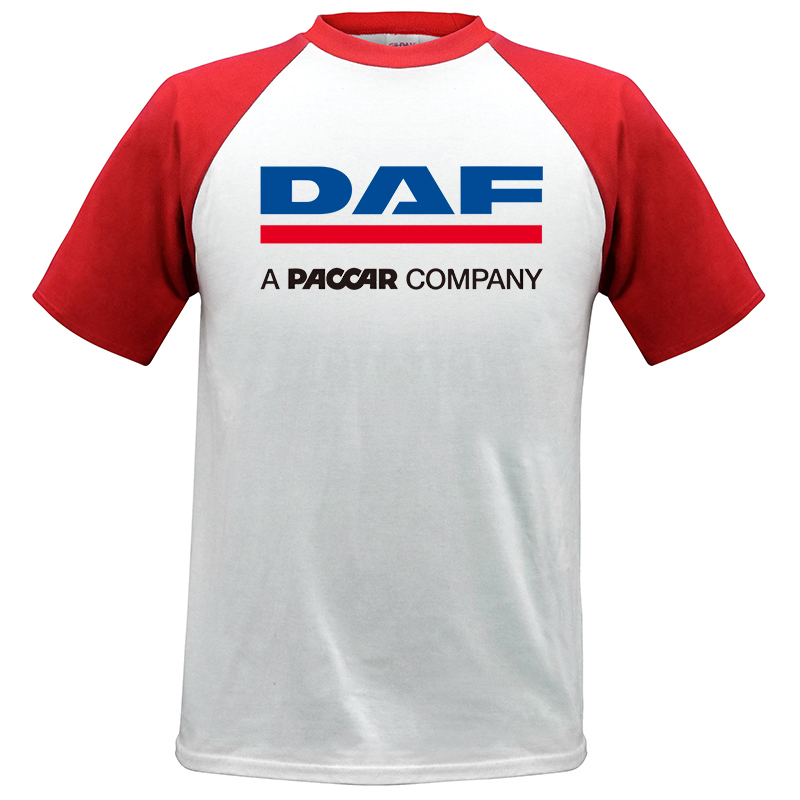 PERSONALISED ABSOLUTE BRAND DAF TRUCK LORRY DAF LOGO EMBROIDERED POLO SHIRT