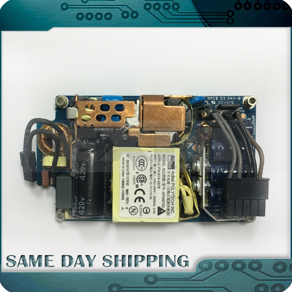 цена Used A1144 A1145 A1173 A1174 A1195 A1208 A1207 Power Supply PSU for iMac 17