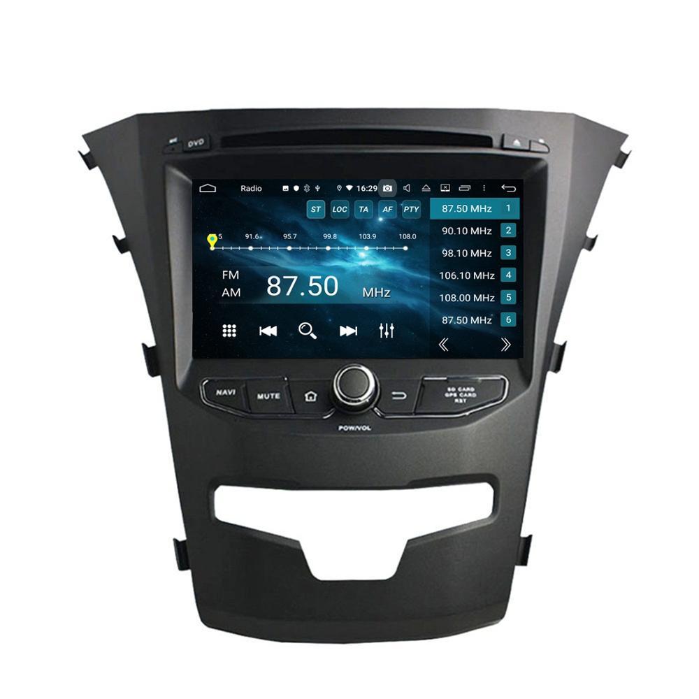 "Android 8,0 Octa Core 7 ""автомобильный Радио DVD gps для SsangYong Korando 2014 2015 с 4 Гб оперативной памяти Bluetooth wifi 32 Гб rom зеркало-ссылка"