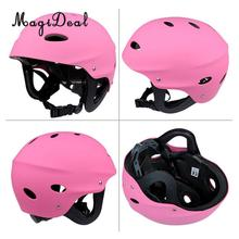 MagiDeal Safety Helmet Hard Hat for Kayak Canoe Surf Paddleboard Water Sports Pink M