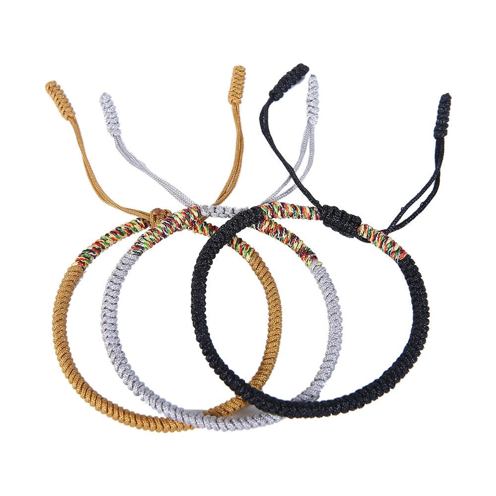 Boho Mix Color Lucky Red Thread Couple Bracelet Friendship Bracelets for Women Rope Charm Bracelet Christmas Gifts for Men