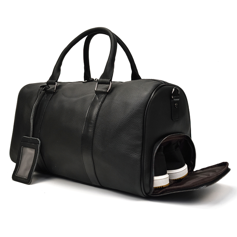 Extra Large Genuine Leather Men Travel Bag Women Vintage Big Capacity Soft Cow Leather Luggage Duffel Bags Man Business Handbag