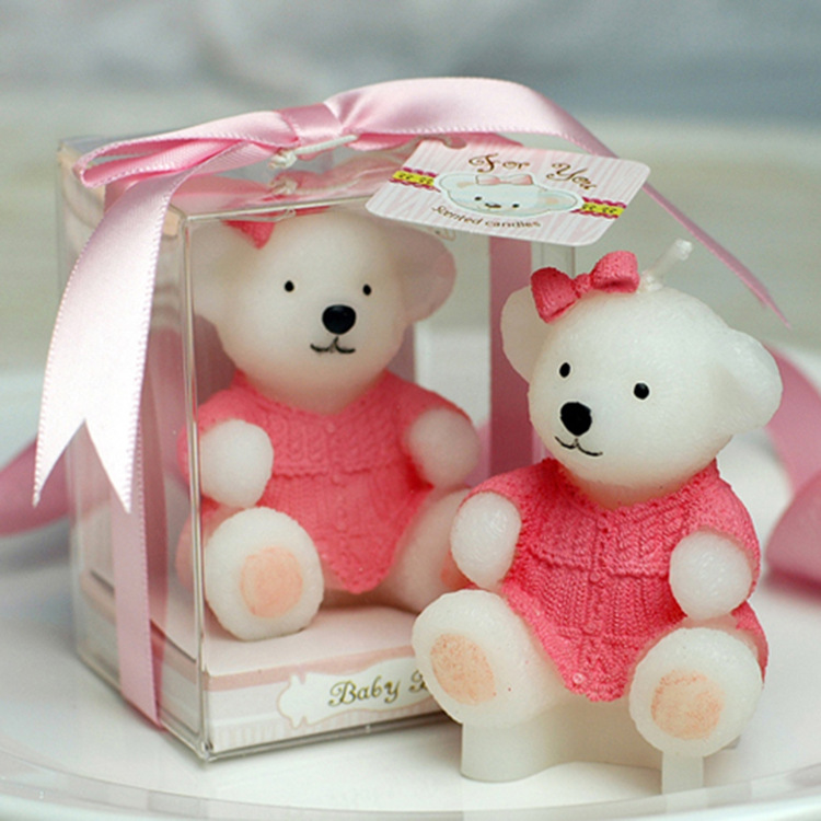 Hundred Days Banquet Birthday Baby Full Moon Gift Teddy Bear Small Candle Factory Wholesale In Candles From Home Garden On Aliexpress