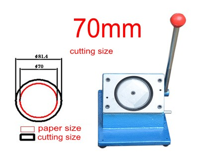 70mm badge making circle cutter round shape paper cutting machine все цены