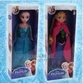 Горячие продажи Подарок для Девочек Игрушки, мода Куклы Принцесса Анна и Эльза Куклы Снежная Королева девушки подарок, аксессуары для барби