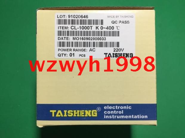 Genuine TAISHENG CL-1000T oven temperature controller CL-1000   220v  400  k бескаркасное кресло папа пуф cocoon chocolate