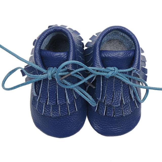Mocasines de cuero del bebé niños primeros caminante zapatos de bebé unisex niños zapatos niños niñas niños toddler bebé chaussure gran
