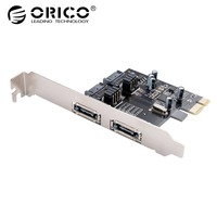 ORICO PCI E to SATA3.0 & eSATA Expansion Card High Speed 6Gbps for Laptop Support Desktop Computer