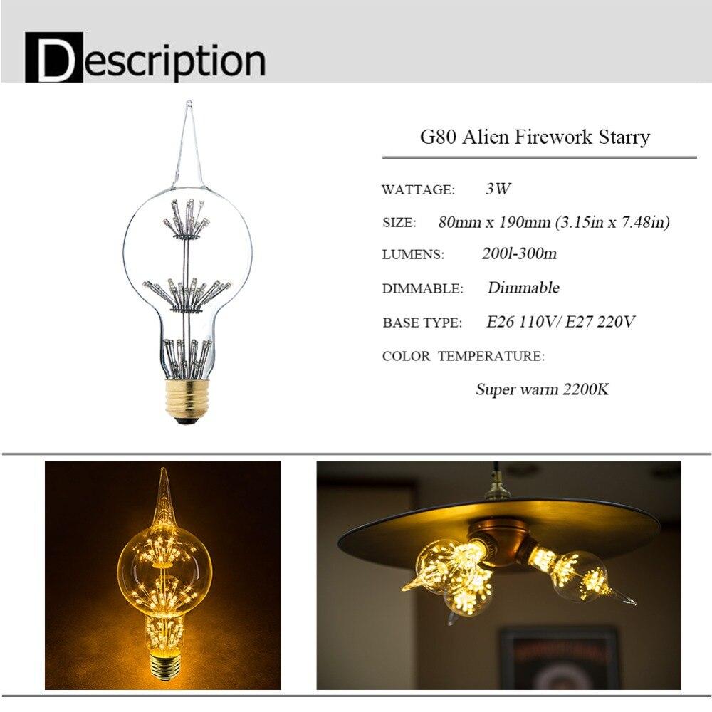 Bombillas LED de filamento formas originales.