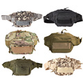 Outdoor Military Tactical Waist Pack Shoulder Bag Men's Women's Multi-pocket Molle Camping Hiking Pouch with Six Colors