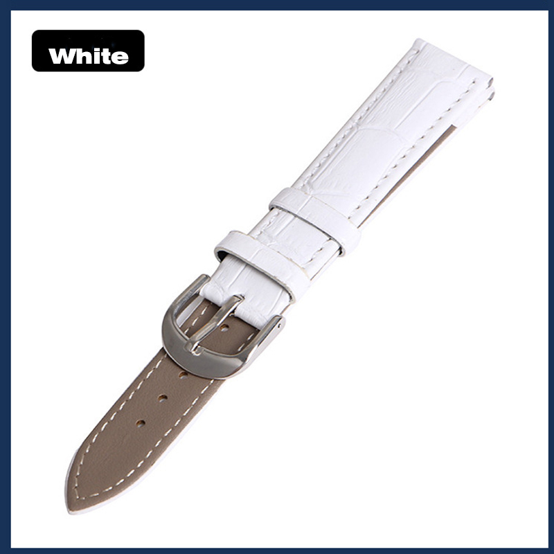 Watches ... Watch Accessories ... 32644375030 ... 5 ... Genuine Leather Watch Band strap 22mm 18mm 20mm 14mm 16mm 19mm  12mm watch accessories Men Women Quality Brown colors Watchbands ...