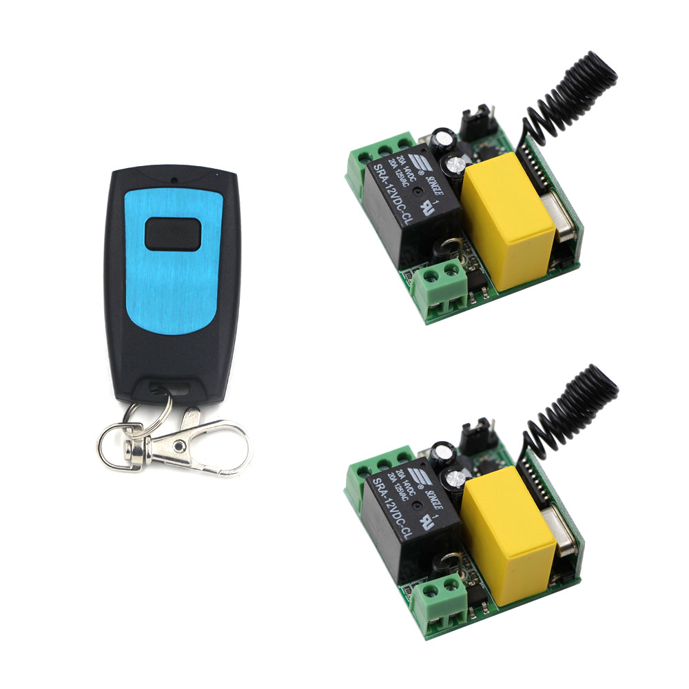 AC 220V Wireless Remote Switch Radio Control Switches Receiver Waterproof Transmitter For Home Lighting Lamp LED Bulbs niorfnio portable 0 6w fm transmitter mp3 broadcast radio transmitter for car meeting tour guide y4409b