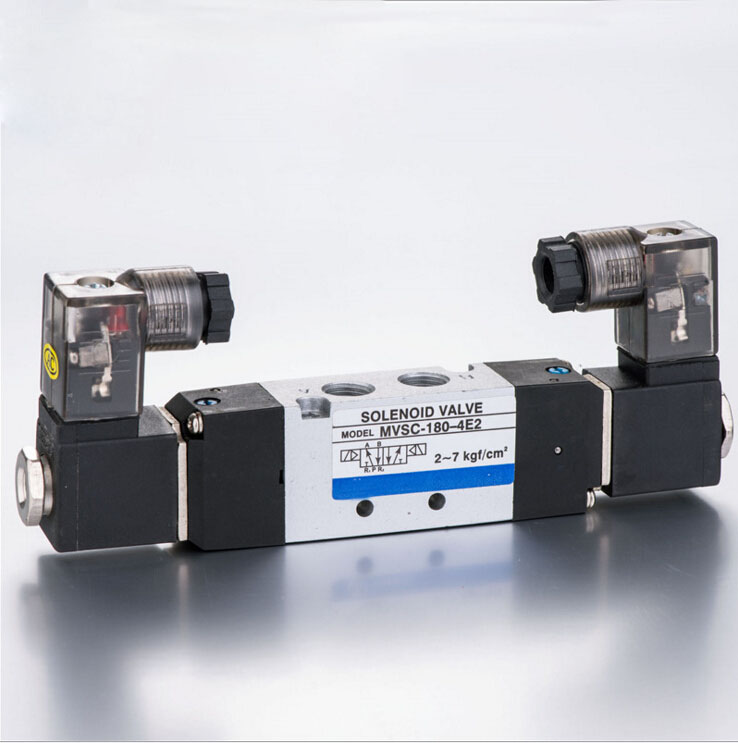 1/8 MVSC180 series mindman solenoid valve double solenoid air solenoid valve new original ifs215 ifs217 warranty for two year