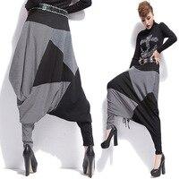 Women Loose Harem Hip Hop Pants Long Streetwear Women Loose Dance Pants femme Baggy Casual Trousers L46