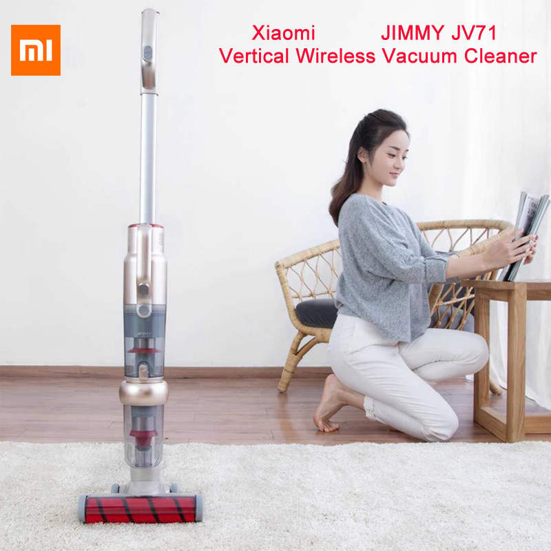 Global version Xiaomi JIMMY JV71 Vertical Wireless Vacuum Cleaner Handheld vertical wireless for smart home automaticallyGlobal version Xiaomi JIMMY JV71 Vertical Wireless Vacuum Cleaner Handheld vertical wireless for smart home automatically
