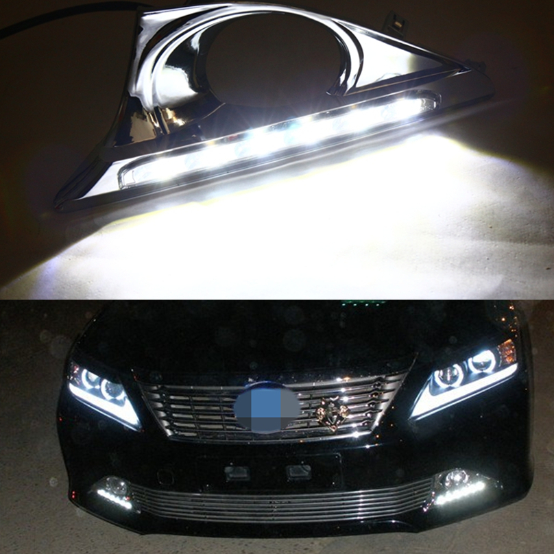 Wholesale Car Styling For Toyota Camry 2012 2014 Led Drl