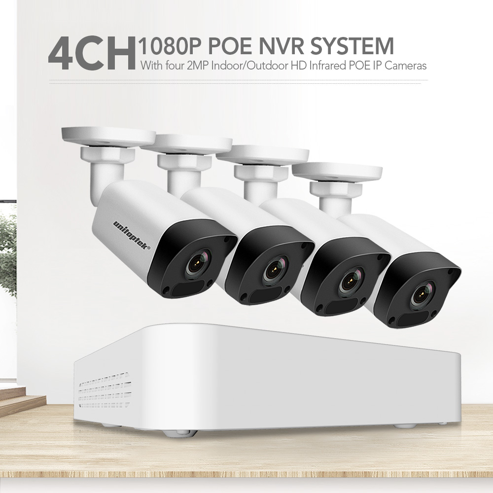 01 4ch 1080P POE NVR Kit