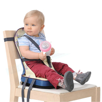Portable Baby Safety Waterproof Soft Dinner Chair Fashion Baby Feeding Booster Seat Chair Infant Seat Feeding