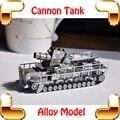 Новогодний подарок немецкая железная дорога пистолет пушки танк 3D модель военные танк кусок металла DIY игрушка для Pro сплава моделей подарок