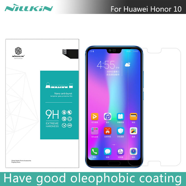 For Huawei Honor 10 NILLKIN Amazing H Anti-Explosion Tempered Glass For Huawei Honor 10 Screen Protector 5.84 inch