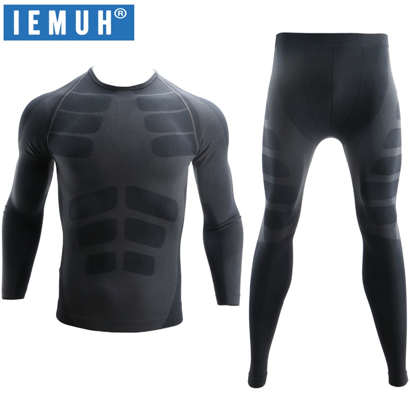 Nuevos conjuntos de ropa interior térmica de invierno para hombre, ropa interior termo para hombre, de secado rápido, antibacterial largo Johns