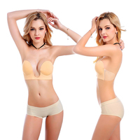 1 Pc Sexy Women Strapless Backless Seamless Invisible Bra Self Adhesive Push Up Stick On Wedding