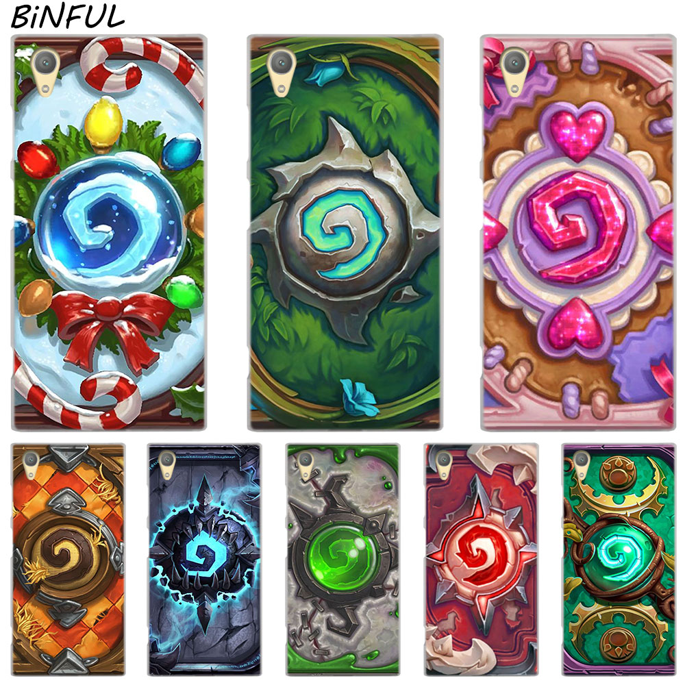 c685cec5d6858d Premium M4 Aqua XZ2 Case for Sony Xperia Z3 Z5 Hearthstone Heroes of  Warcraft Cover