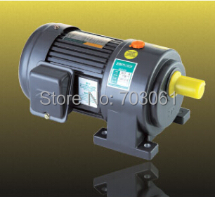 1500W 50mm small AC gear motor single-phase gear motor with 6# gearbox ratio110~180