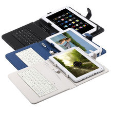"""Boda 10.1""""  10 inch Tablet PC Qual Core 16GB Android 4.4 1.3Ghz  HDMI  WIFI Bundle 10.1"""" USB Keyboard cover as gift"""