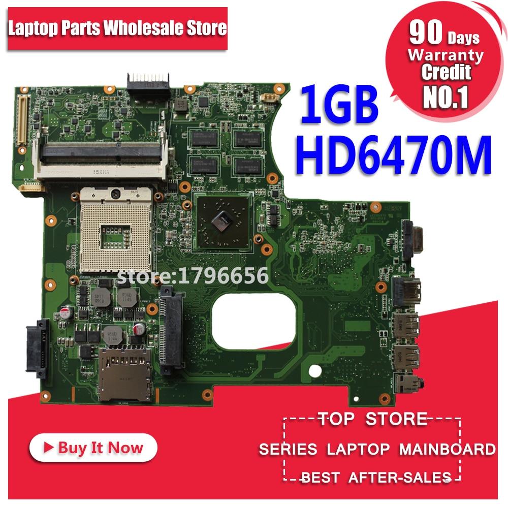 K42JY Motherboard, Tarjeta madre HD6470M 1GB REV: 4.1 Para ASUS X42J A42J K42JR portátil Motherboard, Tarjeta madre K42JY Mainboard K42JY, prueba de placa base 100% ok