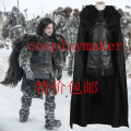 2016 Manles Game of Thrones Costume Jon Snow cosplay Costume custome any size