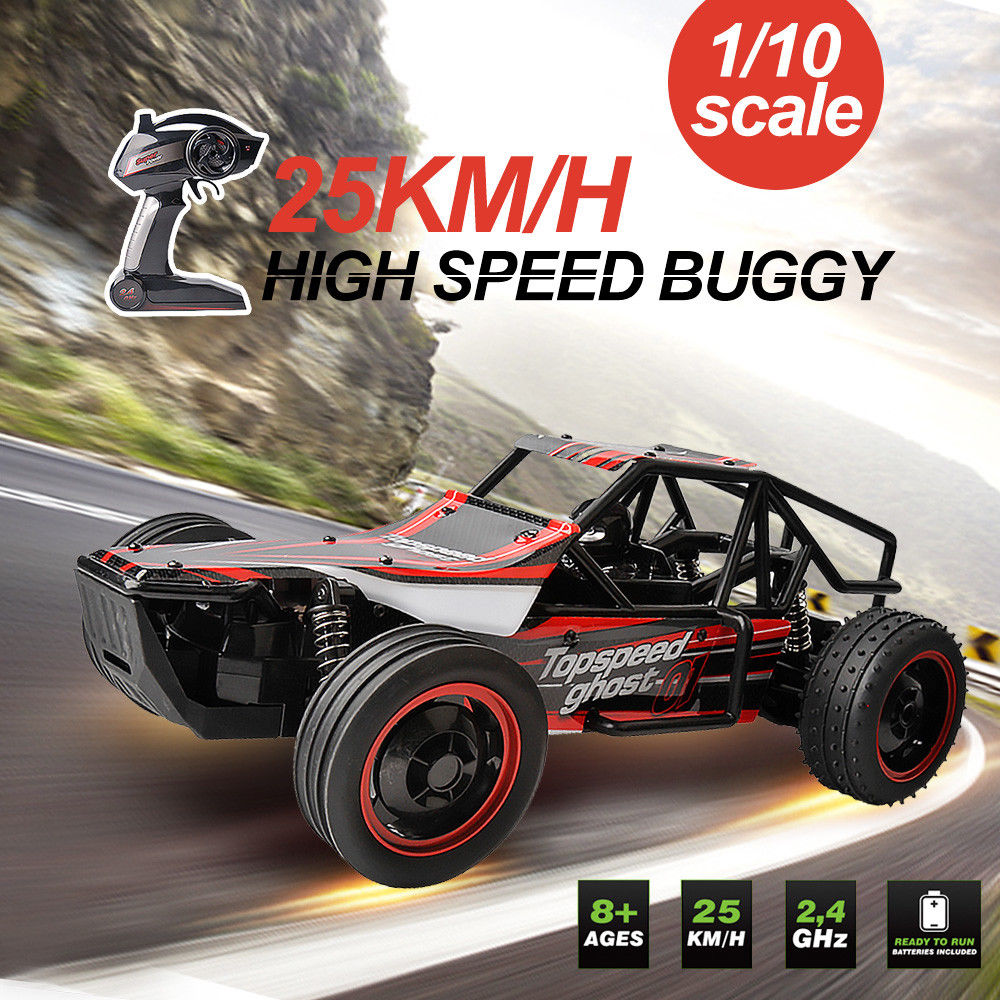 Rc รถ 1/10 Rock Off   Road รถบรรทุก Crawler 2.4 Ghz 2WD ความเร็วสูงรีโมทคอนโทรลรถแข่งรถไฟฟ้า Buggy ของเล่น-ใน รถ RC จาก ของเล่นและงานอดิเรก บน AliExpress - 11.11_สิบเอ็ด สิบเอ็ดวันคนโสด 1