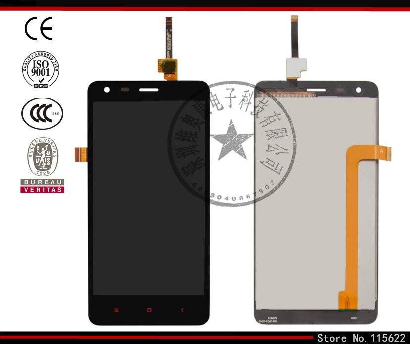 Pantalla lcd de pantalla para xiaomi redmi 2 teléfono celular, (negro, original