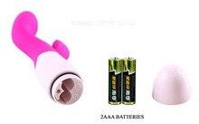 30 Speed Pretty Love Silicone Dual Rabbit Vibrator Waterproof G spot Dildo Vibrators Sex Product Adult Sex Toys For Women