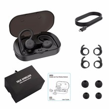 YEINDBOO TWS Bluetooth 5.0 Wireless Earbuds Bluetooth Earphone Waterproof Wireless Stereo Earbus Sport Headset With Mic 5 0 bluetooth mini 3d stereo sound ouch control hifi earphone with mic sport ipx7 waterproof tws wireless earbuds stereo headset
