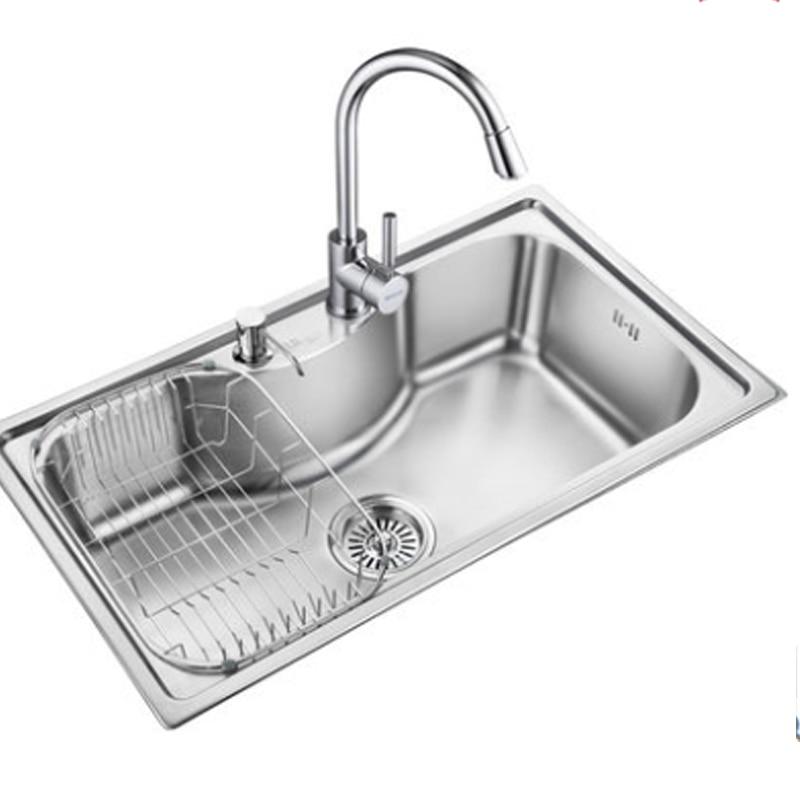 Lavelli da cucina in acciaio inox verdure bacino in acciaio inox ...