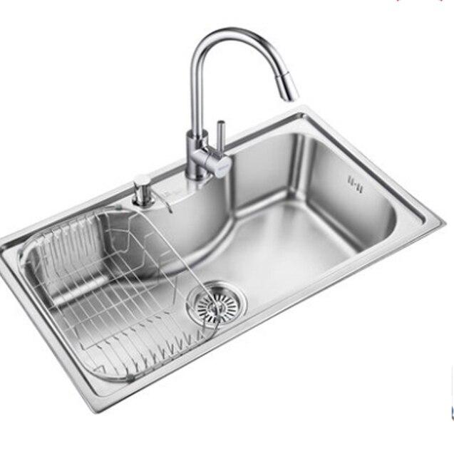 Lavelli da cucina in acciaio inox verdure bacino in acciaio inox 304 ...