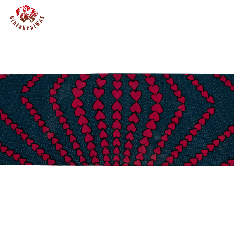 Alta qualidade 6 jardas algodão africano garantido