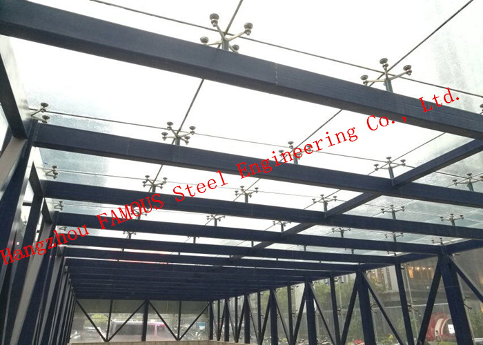 Aluminum Exterior Double Glass Facade Curtain Wall Insulation Building System