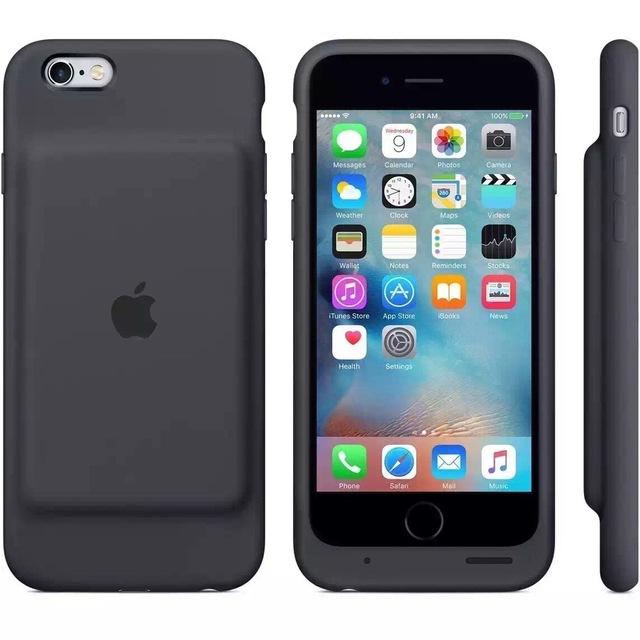 Para iphone6 6 s back-clip de la batería 2600 ma de energía móvil para iphone clip cargador móvil cargador portátil