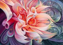 LUOVIZEM Hot sale 5d diamond painting Pink flower embroidery mosaic picture handmade rhinestone needlework Home decor