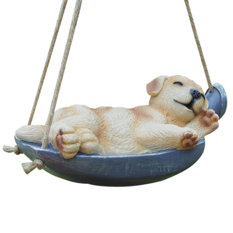 Garden Hanging Statue Artificial Sleeping Dog Rabbit Garden Yard Decoration Garden StatueGarden Hanging Statue Artificial Sleeping Dog Rabbit Garden Yard Decoration Garden Statue