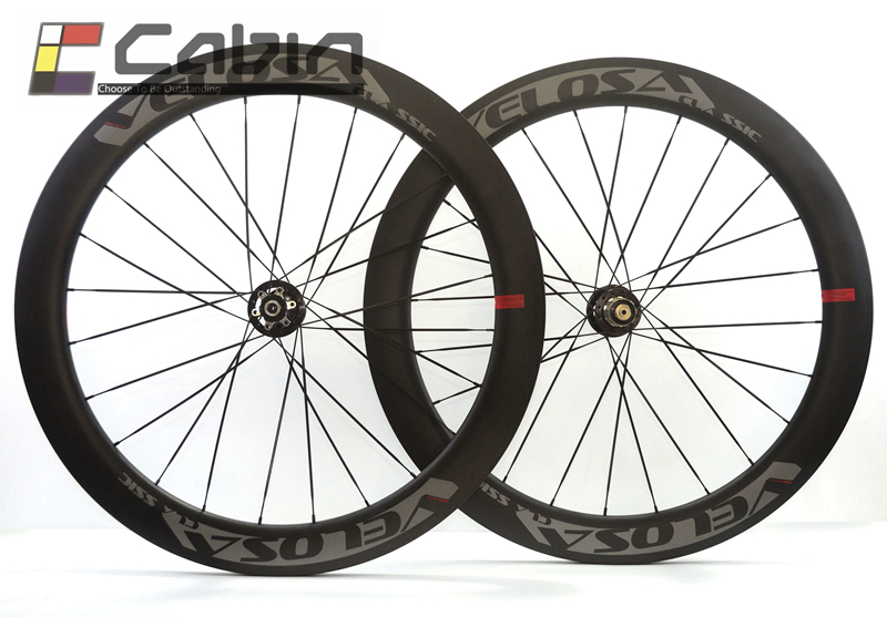 цена на Velosa Disc 60 road disc brake wheelset. 700C road bike carbon wheel, disc brake, 60mm clincher/tubular cyclocross wheel