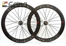 Velosa диск 60 дорожный дисковый тормоз Колесная. 700C велосипеды углеродного колеса, дисковые тормоза, 60 мм довод/tubular Велокросс колеса