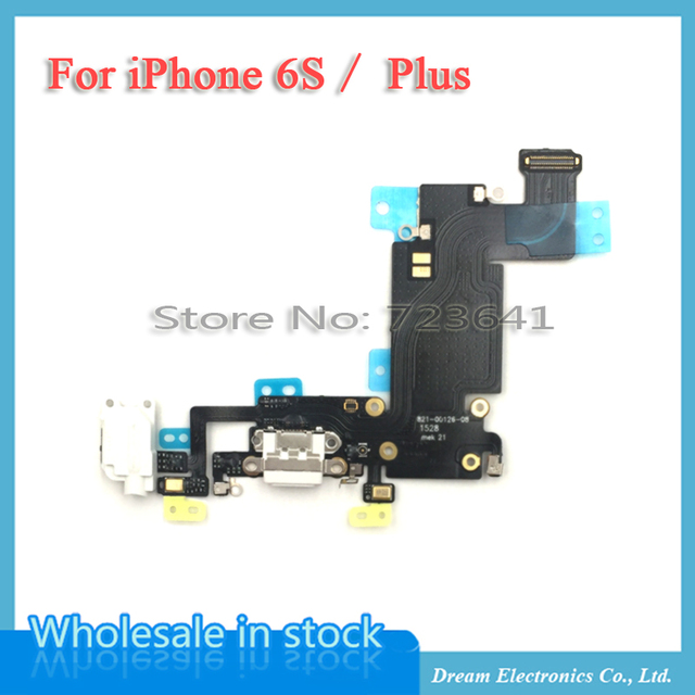 size 40 e418f a9003 Aliexpress.com : Buy MXHOBIC 5pcs/lot White Black Charger Charging Port USB  Connector Dock Headphone Audio Jack Flex Cable For iPhone 6S & Plus 5.5 ...