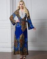 TUHAO Vintage Women Plus Size 6XL 7XL 5XL Dress Lace Saches MAXI Long Dresses Elegant Flare Sleeve Female Retro Dresses CM101