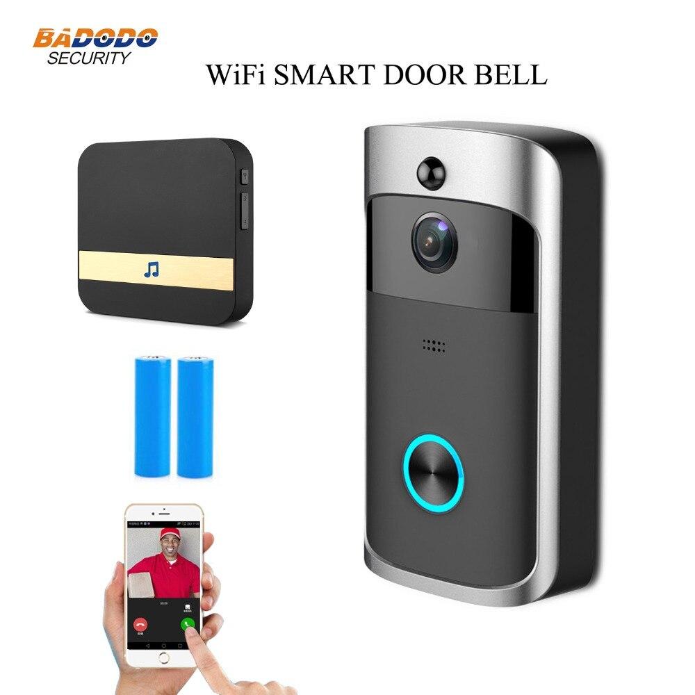 Smart Ip Video Intercom Wifi Video Door Phone Door Bell