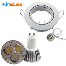 recessed track lighting systems. 2pcs Recessed GU10 LED 6W Bulb With Fixation Round Mounting Frame Track Lights Socket Equivalent 40W Lighting Systems K